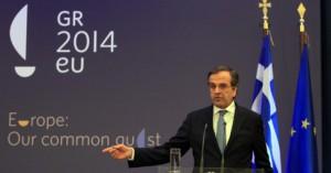 Griechenland übernimmt zum 1. Januar 2014 die EU-Ratspräsidentschaft von Litauen. Bildquelle: picture allianz / dpa