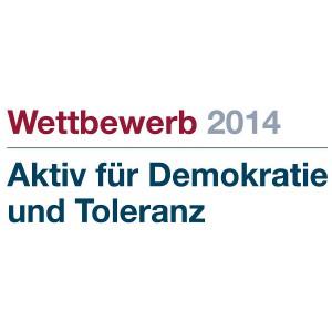 Aktiv für Demokratie und Toleranz 2014