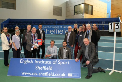 Die Bochumer Delegation im English Institute of Sport in Sheffield Bildquelle: Molatta