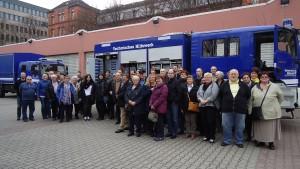 Besuchergruppe März 2015