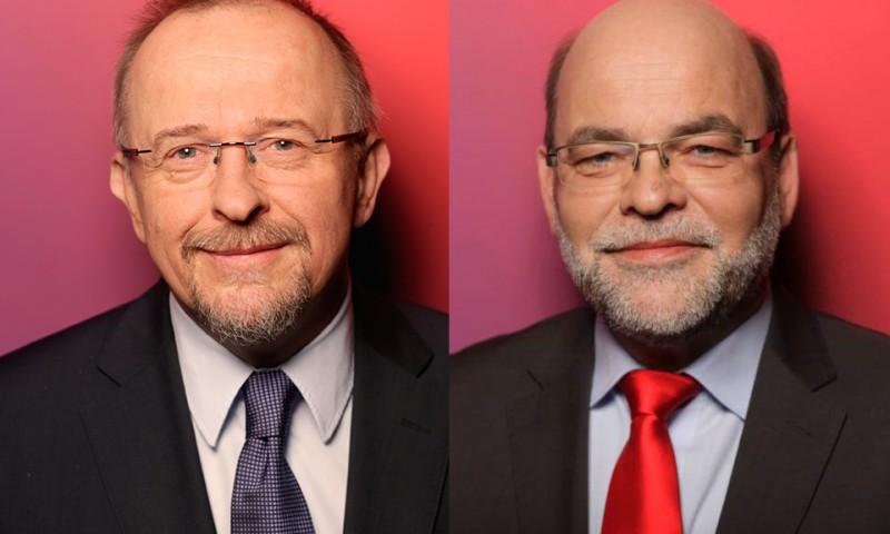 Axel Schäfer MdB und Norbert Spinrath MdB