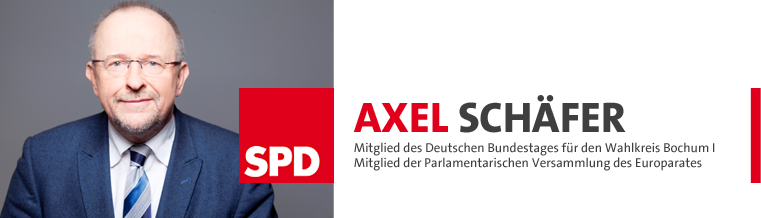 Axel Schäfer – SPD Abgeordneter im Deutschen Bundestag für Bochum